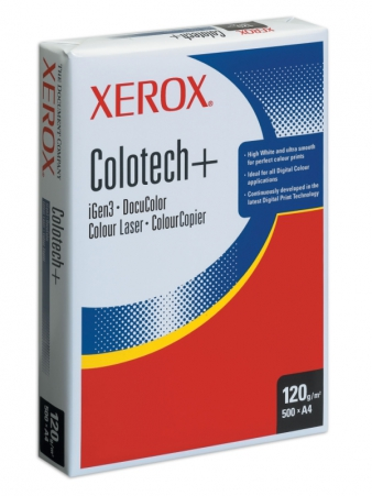 Бумага Colotech Plus. 120 г/кв.м А4, 500 л.